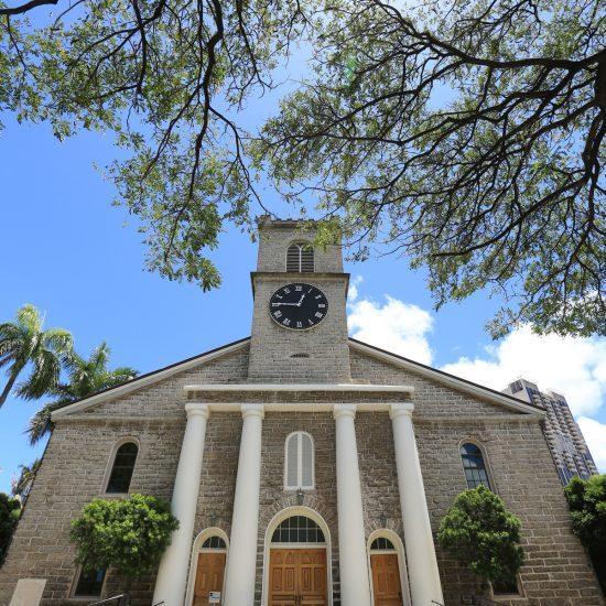 カワイアハオ教会 | Kawaiaha'o Church 大人ウェディング ハワイ マウイ ニューヨーク 海外挙式 カマアオレ・ウェディング