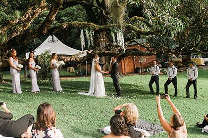 Nutride Estate | 大人ウエディング ハワイ挙式 カマアオレウエディング